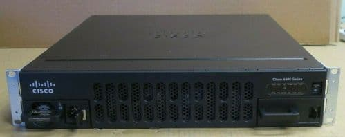 CISCO ISR 4451 ISR4451-X/K9 IPBASE 2U Integrated Services Router + PWR-4450-AC